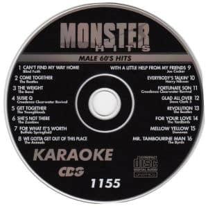 Karaoke Korner - Male 60s Hits
