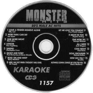 Karaoke Korner - Male 80s AC Hits