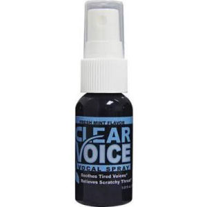Karaoke Korner - CLEAR VOICE SPRAY FRESH MINT