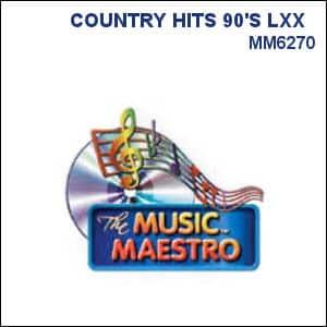 Karaoke Korner - COUNTRY HITS 90'S LXX