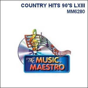 Karaoke Korner - COUNTRY HITS 90'S LXIII