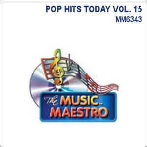 Karaoke Korner - POP HITS TODAY VOL. 15