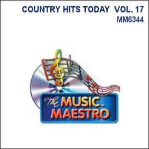 Karaoke Korner - COUNTRY HITS TODAY  VOL. 17