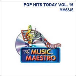 Karaoke Korner - POP HITS TODAY VOL. 16