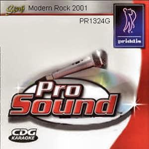 Karaoke Korner - Modern Rock 2001
