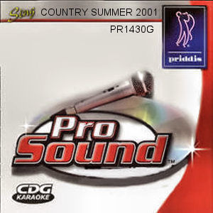 Karaoke Korner - Country Summer 2001