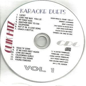 Karaoke Korner - QUIK HITZ KARAOKE DUETS VOLUME #1