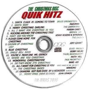 Karaoke Korner - Quik Hitz Christmas 2010