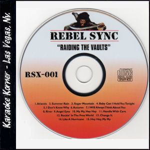 "Karaoke Korner - Rebel Sync Vol. 1 ""Raiding the Vaults"""