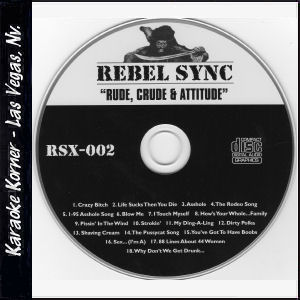 "Karaoke Korner - Rebel Sync Vol. 2 ""Rude"