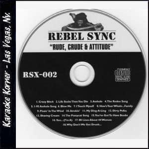 """Karaoke Korner - Rebel Sync Vol. 2 """"Rude"""