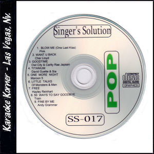 Karaoke Korner - Singer's Solution #17