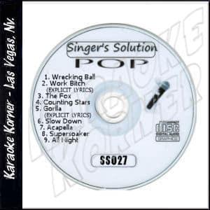 Karaoke Korner - Singer's Solution Pop #27