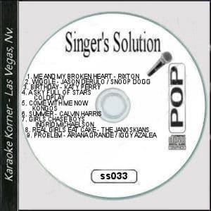 Karaoke Korner - Singer's Solution Pop #33