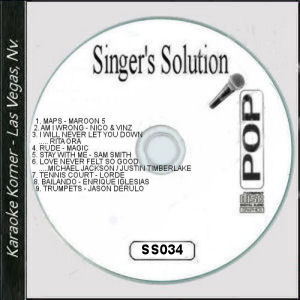 Karaoke Korner - Singer's Solution Pop #34