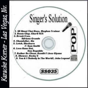 Karaoke Korner - Singer's Solution Pop #35