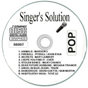 Karaoke Korner - Singer's Solution Pop #37