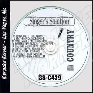 Karaoke Korner - Singer's Solution C#429