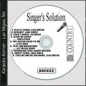 Karaoke Korner - Singer's Solution #C432