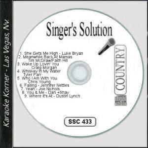Karaoke Korner - Singer's Solution #C433