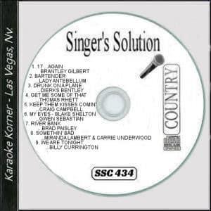 Karaoke Korner - Singer's Solution #C434