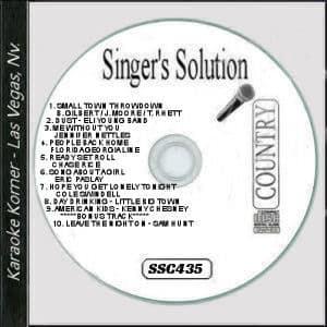 Karaoke Korner - Singer's Solution #C435