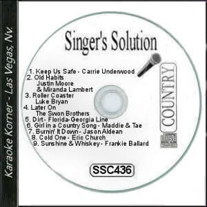 Karaoke Korner - Singer's Solution #436