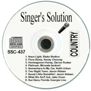 Karaoke Korner - Singer Solution Country #437