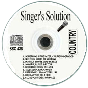 Karaoke Korner - Singer's Solution Country #438