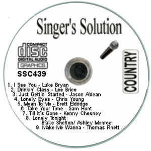 Karaoke Korner - Singer'sSolution Country #439