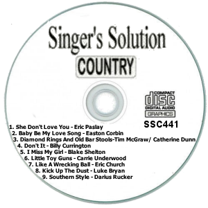 Karaoke Korner - Singer's Solution Country #441