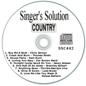 Karaoke Korner - Singer's Solution Country #442