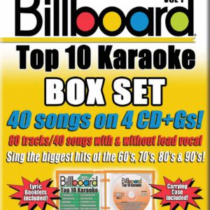Karaoke Korner - BILLBOARD TOP 10 KARAOKE BOX SET - VOL 1