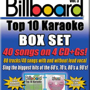 Karaoke Korner - BILLBOARD TOP 10 KARAOKE BOX SET - VOL 3