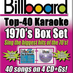 Karaoke Korner - BILLBOARD 1970's TOP 40 KARAOKE BOX SET