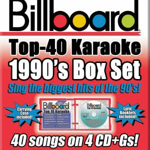 Karaoke Korner - BILLBOARD 1990's TOP 40 KARAOKE BOX SET