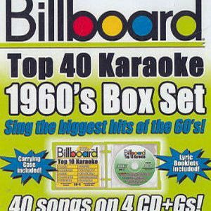 Karaoke Korner - BILLBOARD 1960's TOP 40 KARAOKE BOX SET