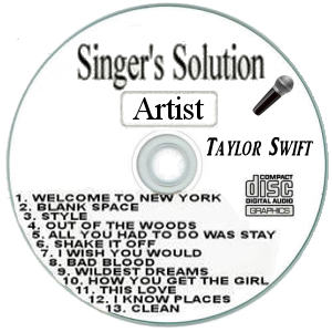 Karaoke Korner - Singer's Solution Artist #TS1989 - Taylor Swift