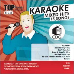 Karaoke Korner - Top Tunes - Mixed Hits