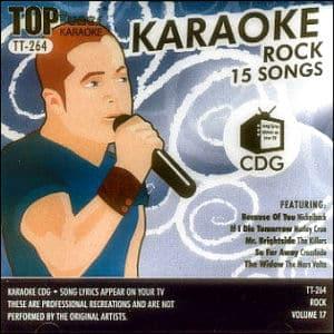 Karaoke Korner - Top Tunes - Rock Songs