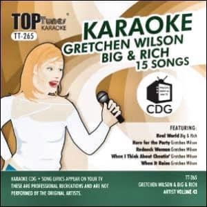 Karaoke Korner - Top Tunes - Grechen Wilson & Big & Rich