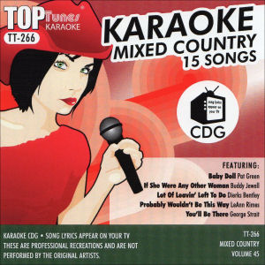 Karaoke Korner - Top Tunes - Mixed Country Vol. 45
