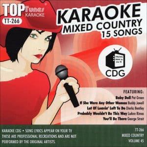 Karaoke Korner - Top Tunes - Mixed Country Vol. 45