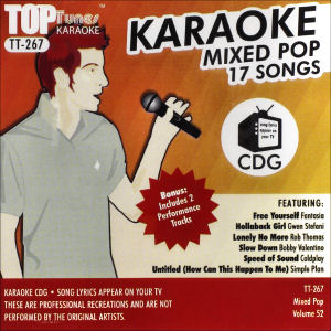 Karaoke Korner - Top Tunes - Mixed Pop Vol. 45