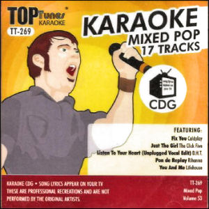 Karaoke Korner - Top Tunes - Mixed Pop Vol. 53