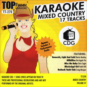 Karaoke Korner - Top Tunes - Mixed Country Vol. 47