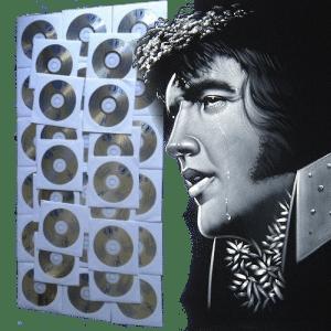 Karaoke Korner - Velvet Elvis Presley Karaoke 32 CDG Set 482 Songs