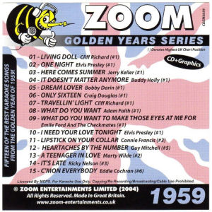 ZGY59 - Zoom Golden Years 1959