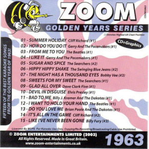 ZGY63 - Zoom Golden Years 1963