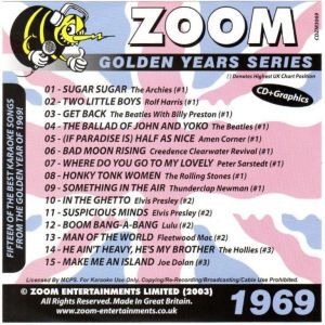 ZGY69 - Zoom Golden Years 1969